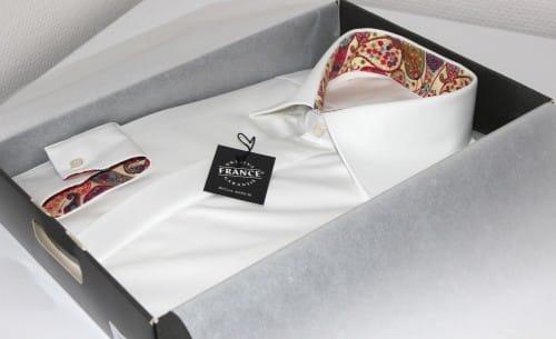 Chemises à fleurs |Chemise sur mesure, chemise sur mesure paris, boutique chemise sur mesure, chemise col italien, chemise fantaisie, chemise liberty, chemise blanche