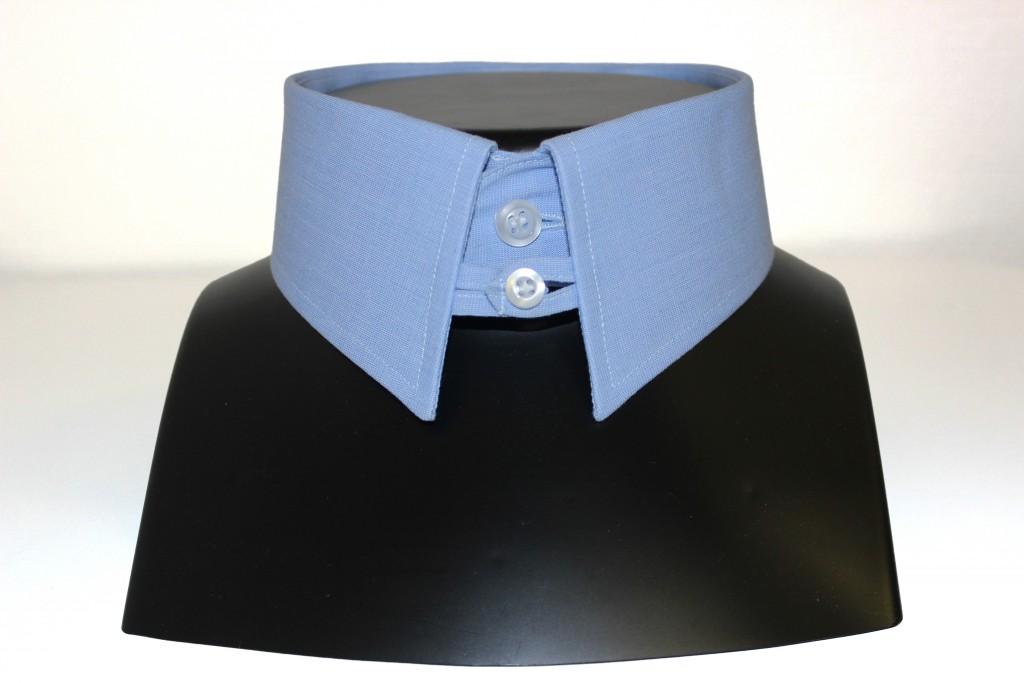 chemise col anglais, Clotilde ranno, Chemises sur mesure, boutique chemises sur mesure, chemises sur mesure luxe, col pour cravate