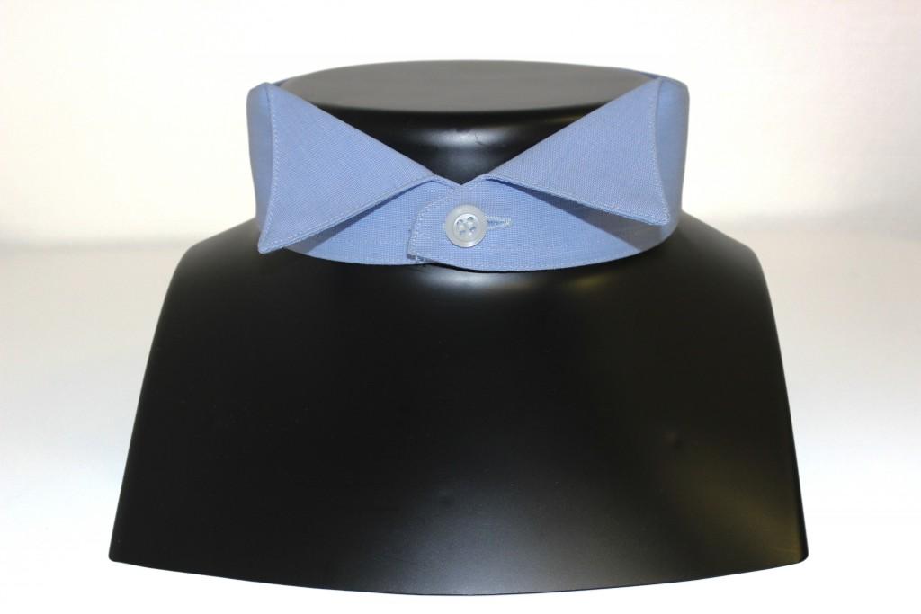 Chemise col cassé, chemise col cérémonie, chemise col noeud papillon, Clotilde Ranno, chemises sur mesure
