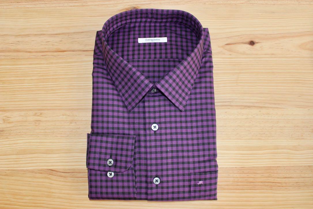 chemise à carreaux homme sur mesure , chemise à carreaux homme