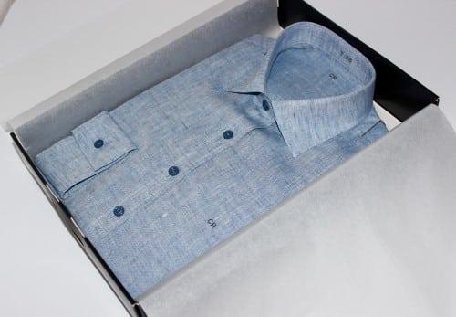 tunique chemise sur mesure, belles chemises sur mesure, chemise femme, chemise en lin, chemise col italien, chemise poignet simple, chemise coupe droite, chemise gorge surpiqué, chemise bas piquette, chemise manches longues
