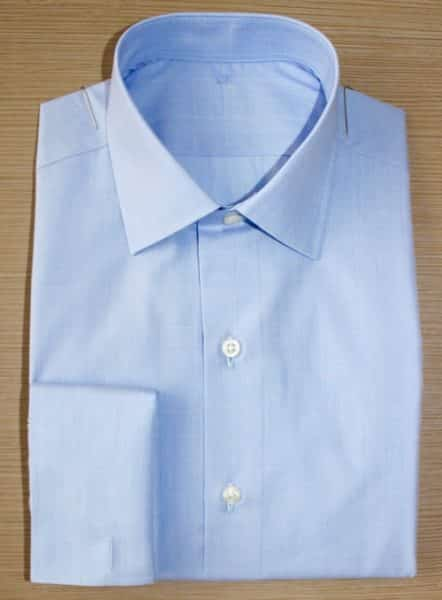 chemise homme, chemise poignet mousquetaire, chemise coton, chemise sans gorge, chemise bas liquette, chemise baleines amovibles, chemise col rigide, chemise col italien, chemise bleue