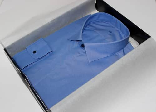 chemises business, chemises business sur mesure, chemise homme, chemise non iron, chemise coton, chemise col italien, chemise sans baleines, chemise bas droit, chemise poignets simple, chemise made in france