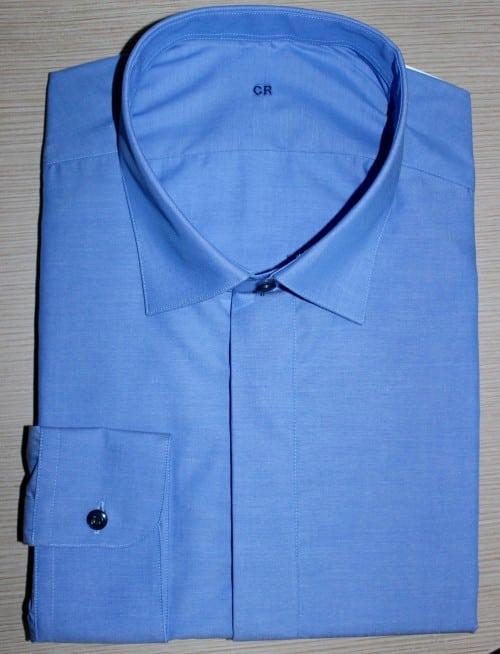 chemises business, chemise homme, chemise non iron, chemise coton, chemise col italien, chemise sans baleines, chemise bas droit, chemise poignets simple, chemise made in france