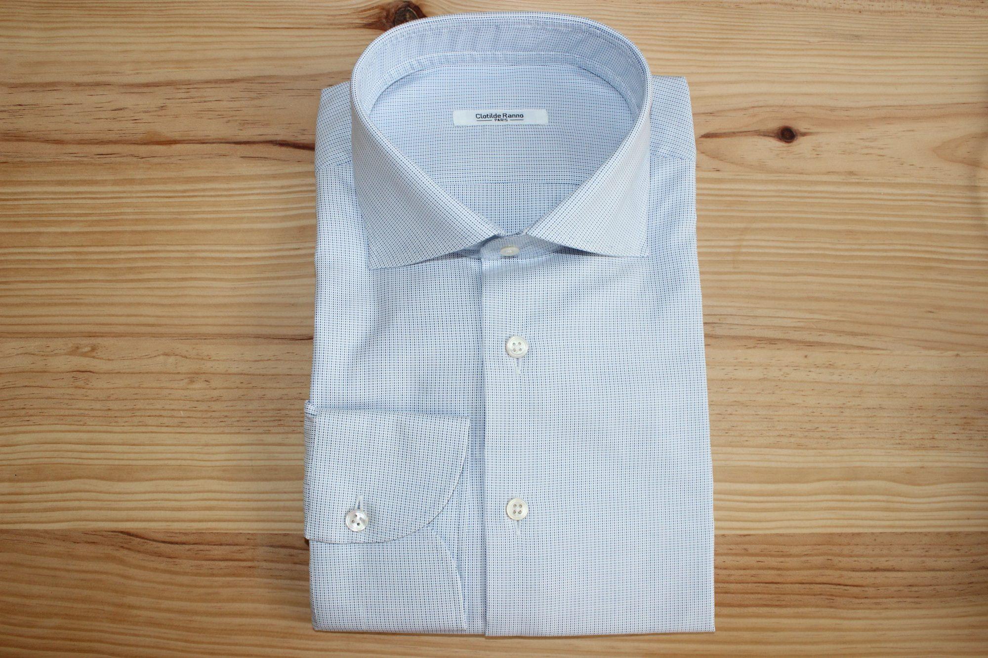 chemise business élégante sur mesure , chemise business élégante , chemise business