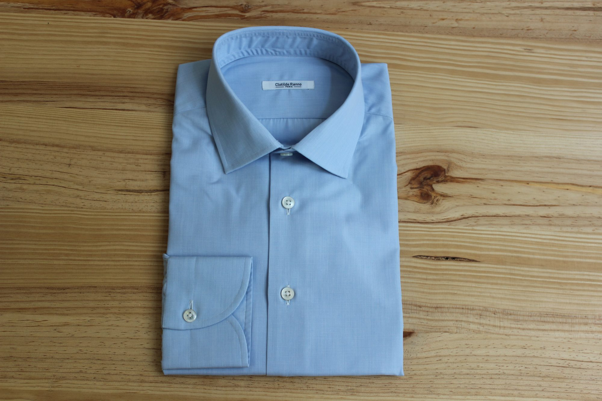 chemise en coton sur mesure , chemise en coton , chemise sur mesure