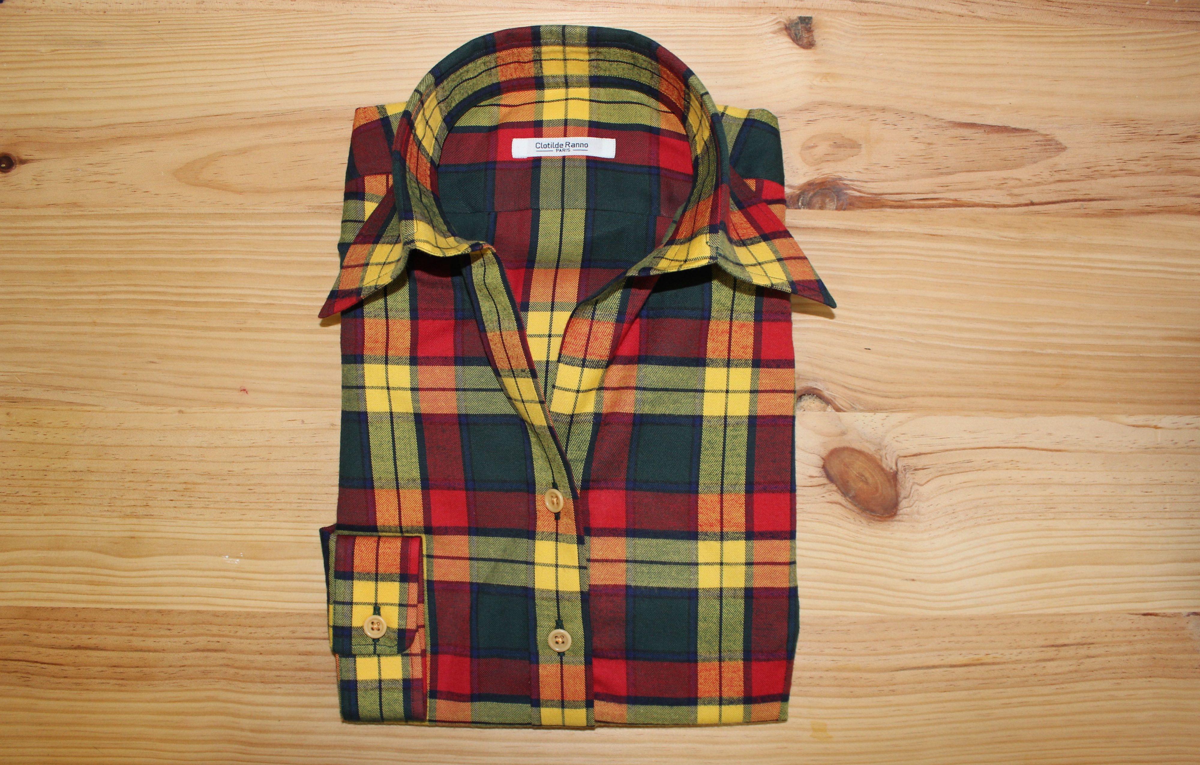 chemise personnalisée sur mesure , chemise personnalisée