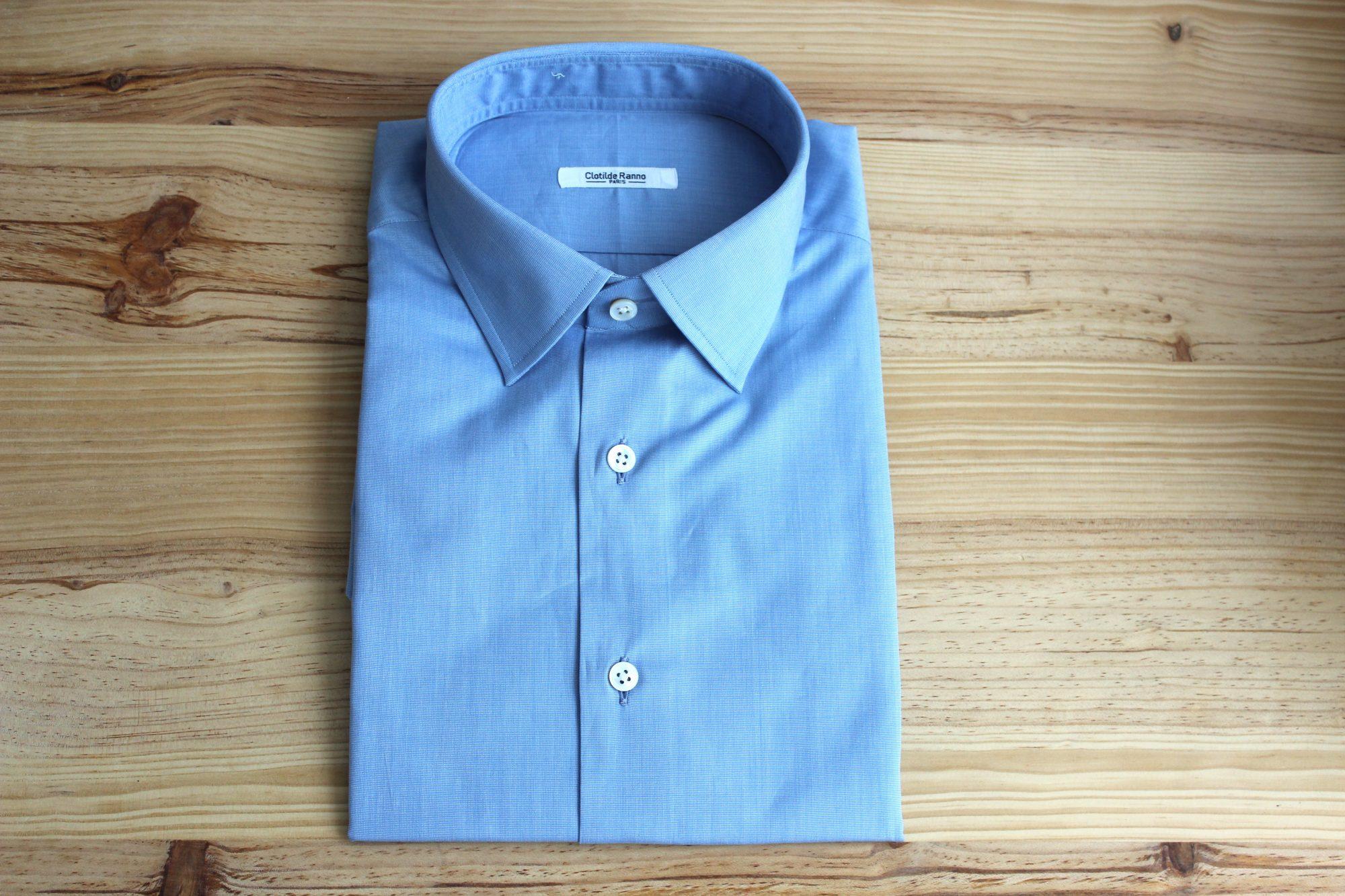 chemise sur mesures décontractée , chemise décontractée