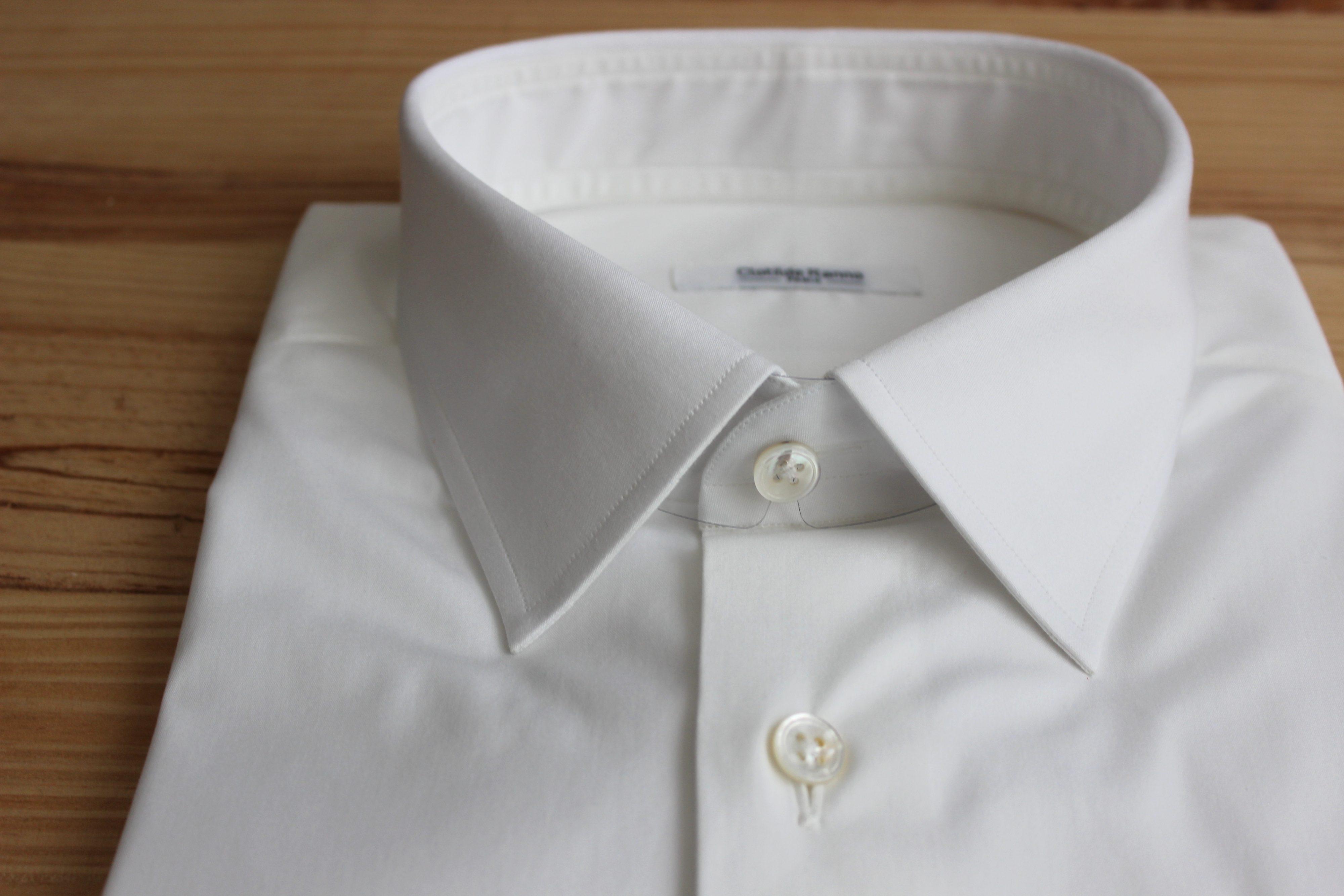 chemise unie , chemise unie sur mesure