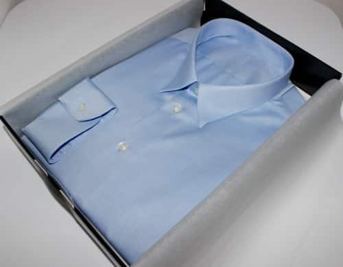 chemise homme, chemise bas liquette, chemise bleue, chemise col classique, chemise en coton, chemise poignet simple, chemise sans gorge
