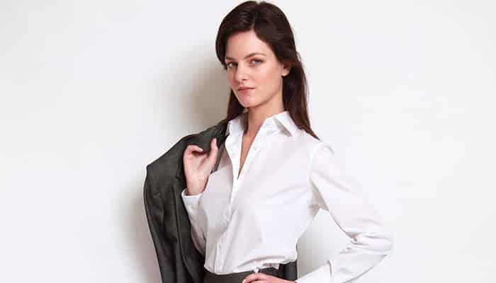 leader, leadership, chemise dirigeant, chemise leader, chemise femme, chemisier femme, chemise sur mesure, chemises sur mesure femme