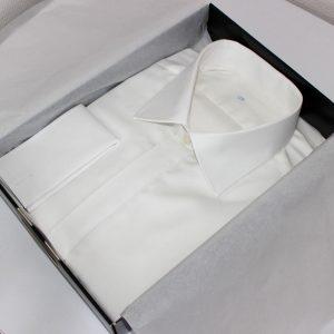 chemise blanche classique , chemise bas liquette, chemise blanche, Chemise col italien, chemise coton, chemise gorge cachée, chemise homme, Chemise poignets mousquetaire, chemise easy iron