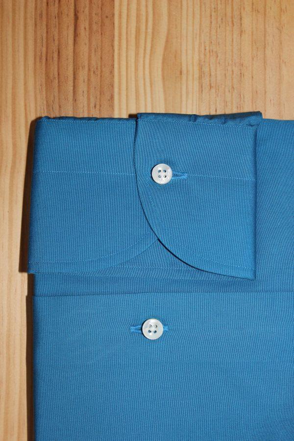 chemise bleue sur mesure , chemise bleue