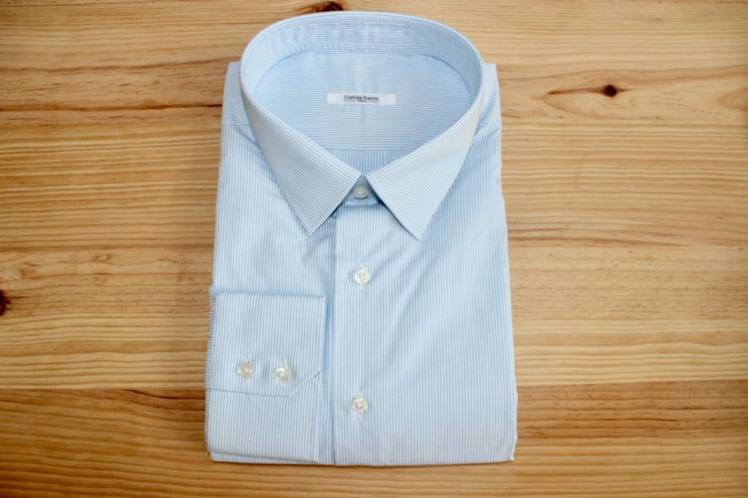 chemise luxe non iron sur mesure , chemise non iron , chemise luxe