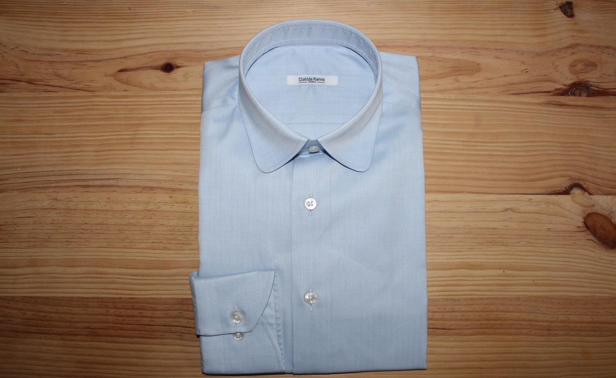 chemise sur mesure business , chemise business
