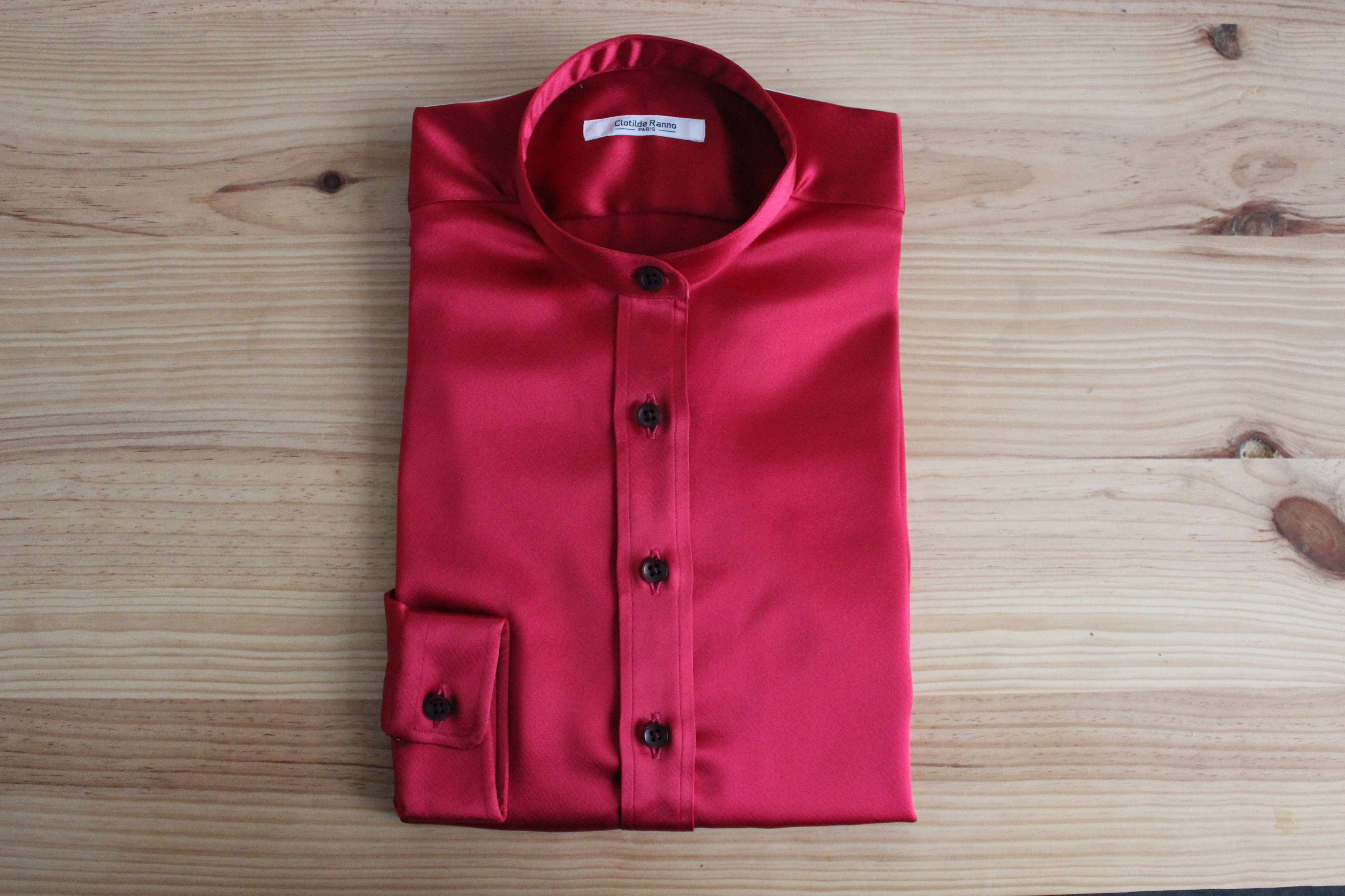 chemise sur mesure femme , chemise femme
