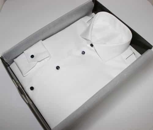 chemise luxe non iron, chemise 100% coton, chemise homme, chemise col italien ouvert, chemise non iron, chemise bas liquette, chemise sans gorge, Chemise poignets mixtes