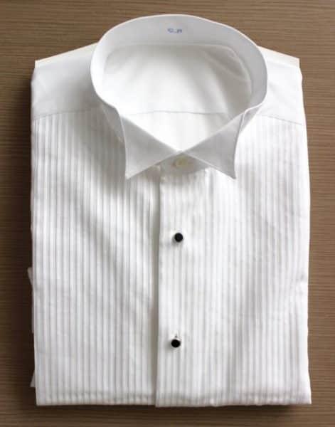 chemises smoking , chemise blanche, chemise col cassé, chemise homme, chemise mariage, chemise plastron, Chemise poignets mixtes, chemise smoking