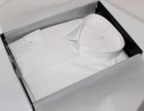 chemise mariage , chemise blanche, chemise business, Chemise col italien, Chemise easy iron, chemise gorge cachée, chemise homme, Chemise poignets mixtes