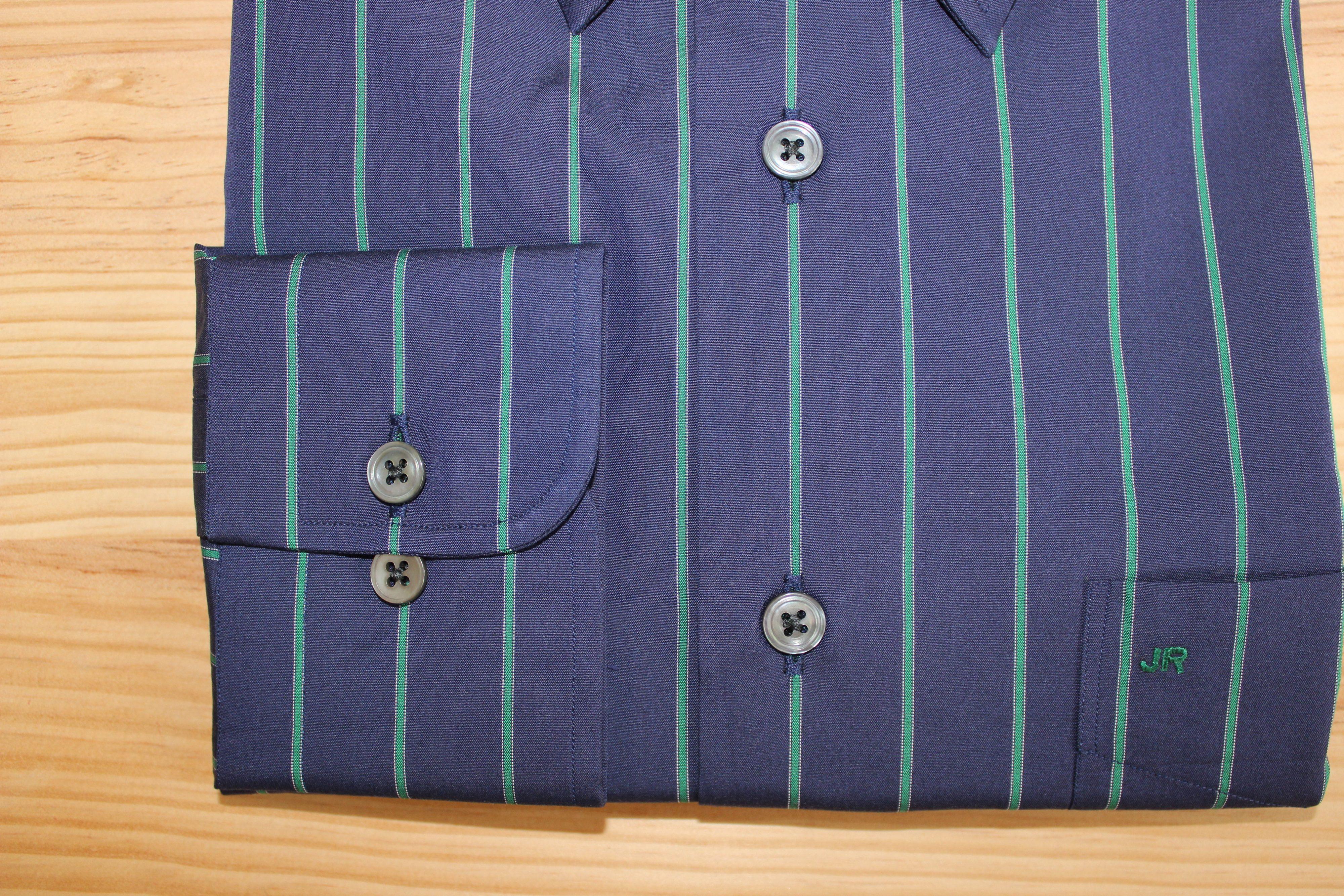 chemise rayée coton égyptien sur mesure , chemise rayée coton égyptien , chemise rayée