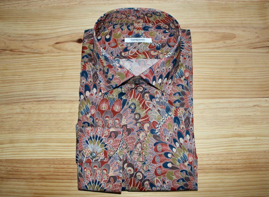 chemise sur mesure tendance , chemise tendance