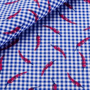 chemise sur mesure, thomas mason, tissu imprimé, imprimé figuratif, tissu fantaisie, chemise fantaisie, chemise homme, chemise femme, achat chemise