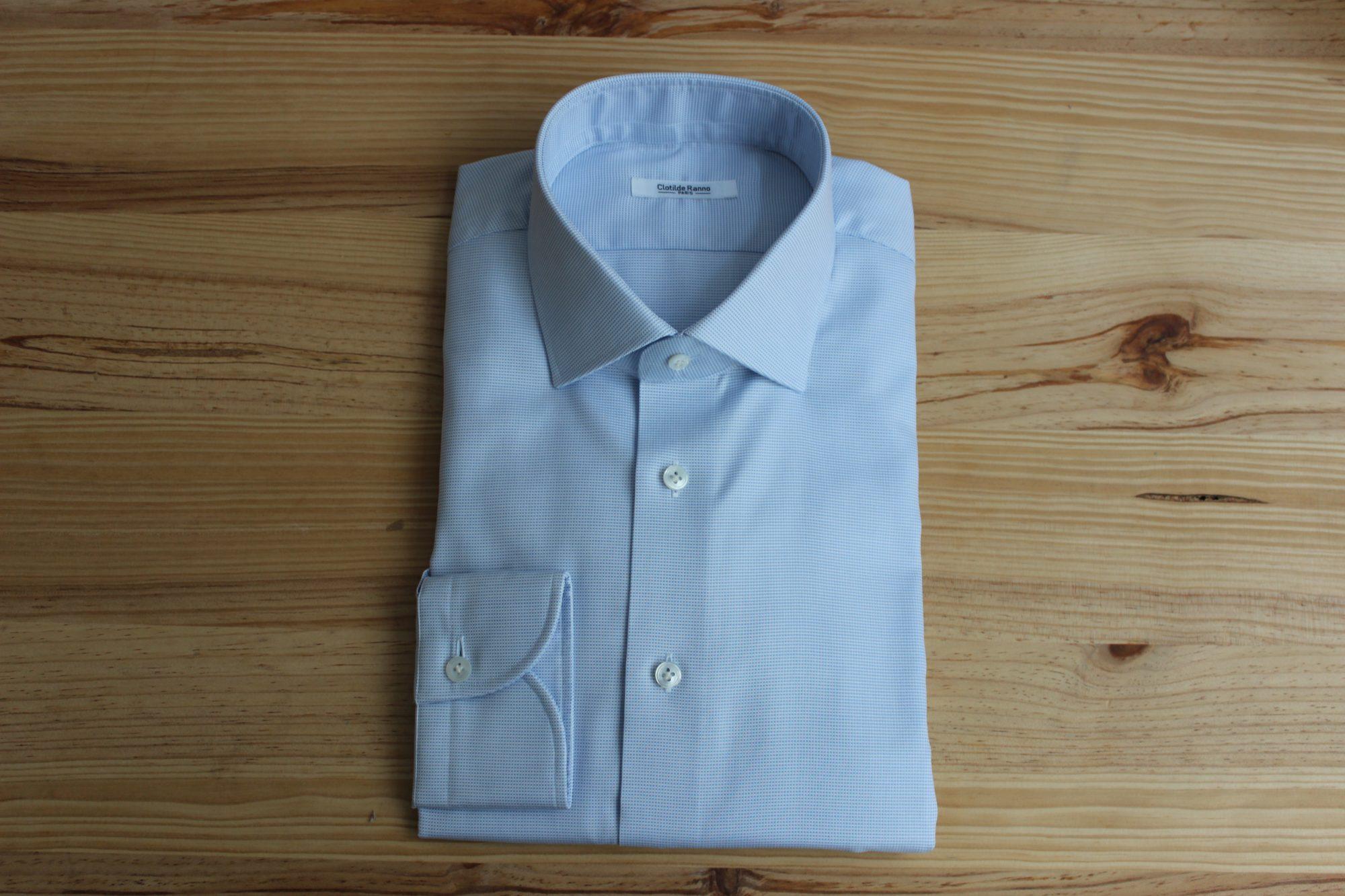 robe chemise bespoke sur mesure , robe chemise sur mesure , robe chemise bespoke