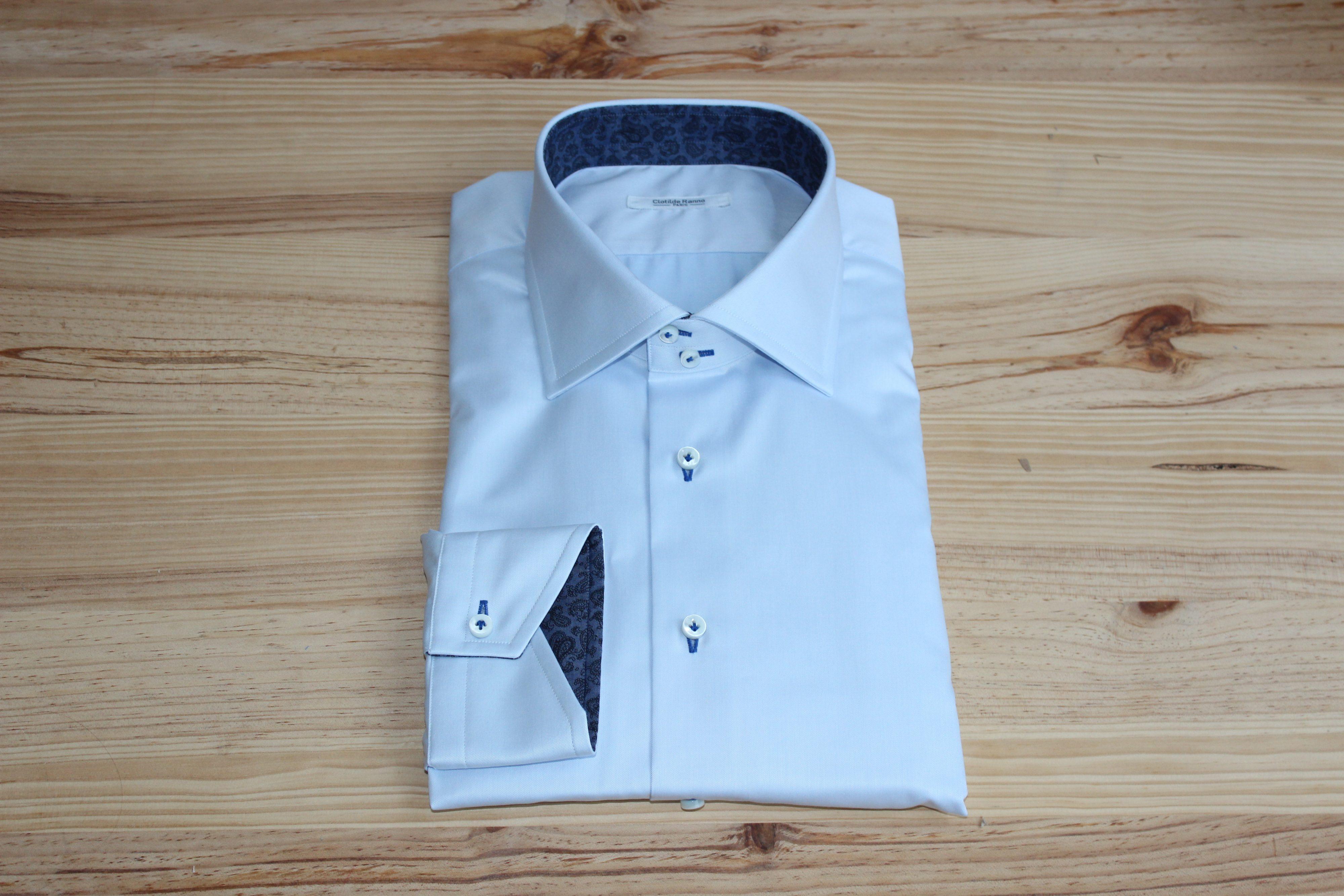 robe chemise sur mesure avec motifs , robe chemise sur mesure , robe chemise avec motifs