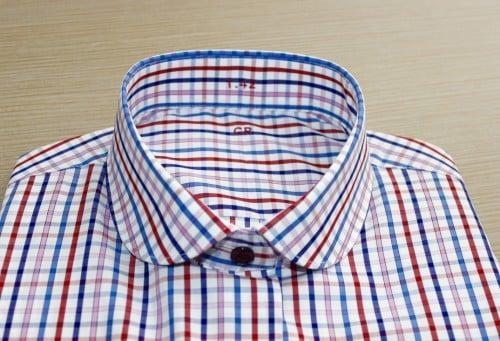 chemise made in france, robe chemise, chemise rayée, chemise en coton, chemise simple retors,chemise bas liquette, chemise sans gorge, chemise col rond, chemise poignets napolitain