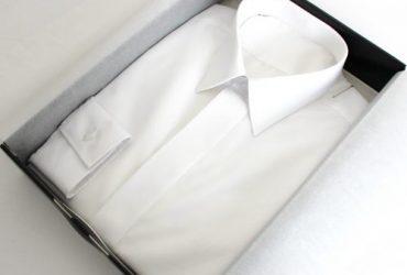 Chemise blanche sur mesure Deauville