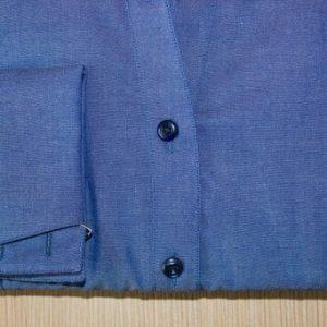 chemise en jean ,chemise bas liquette, chemise cintrée, chemise col lady, chemise coton, chemise en jean, chemise femme, chemise gorge surpiquée, chemise poignet butterfly