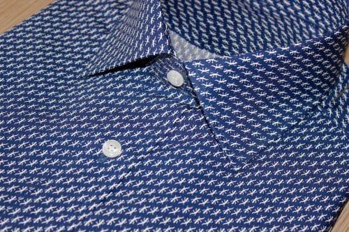 chemise indémodable, chemise moderne , Chemise col italien, chemise coton égyptien, chemise fantaisie, chemise homme, Chemise luxe, chemise thomas mason, Chemise poignets mixtes, chemise simple retors