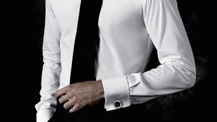 chemise bouton de manchette