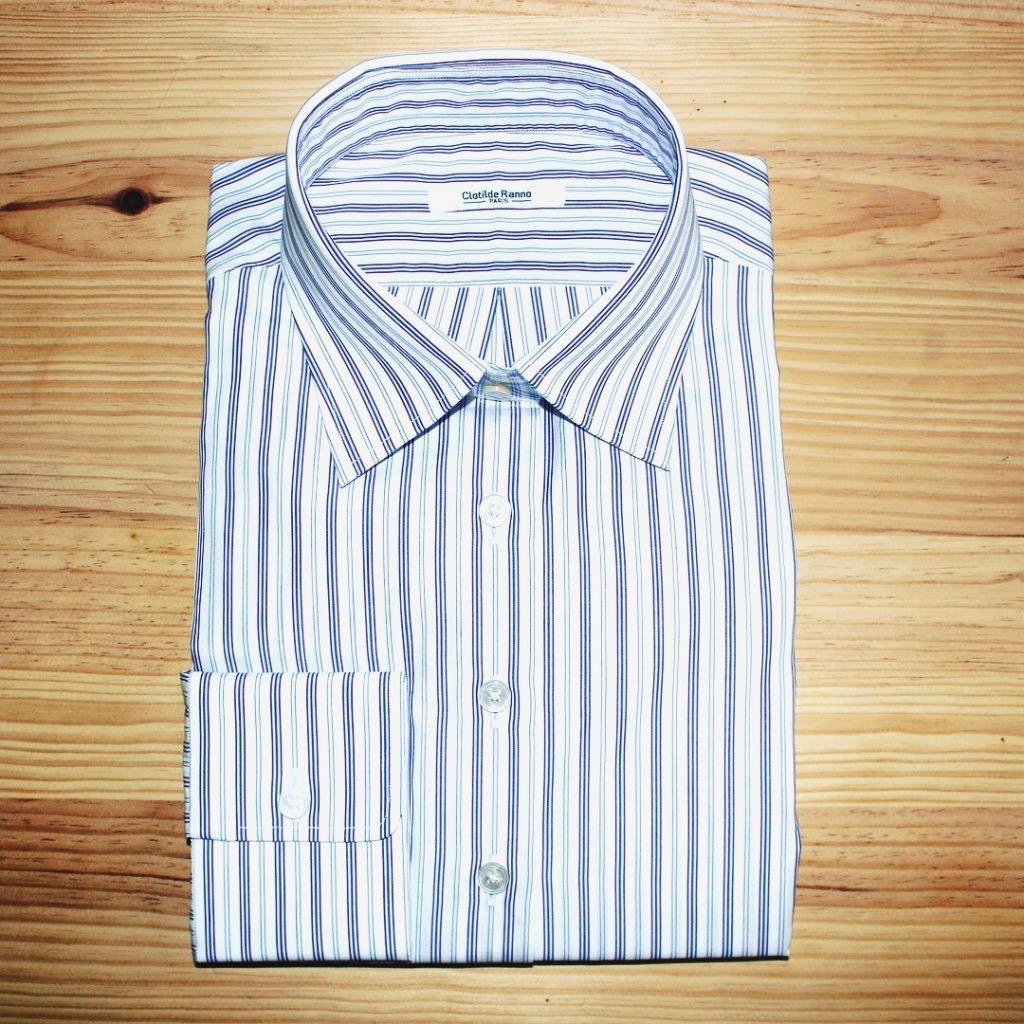 chemise business rayée sur mesure , chemise business rayée , chemise business sur mesure , chemise rayée sur mesure