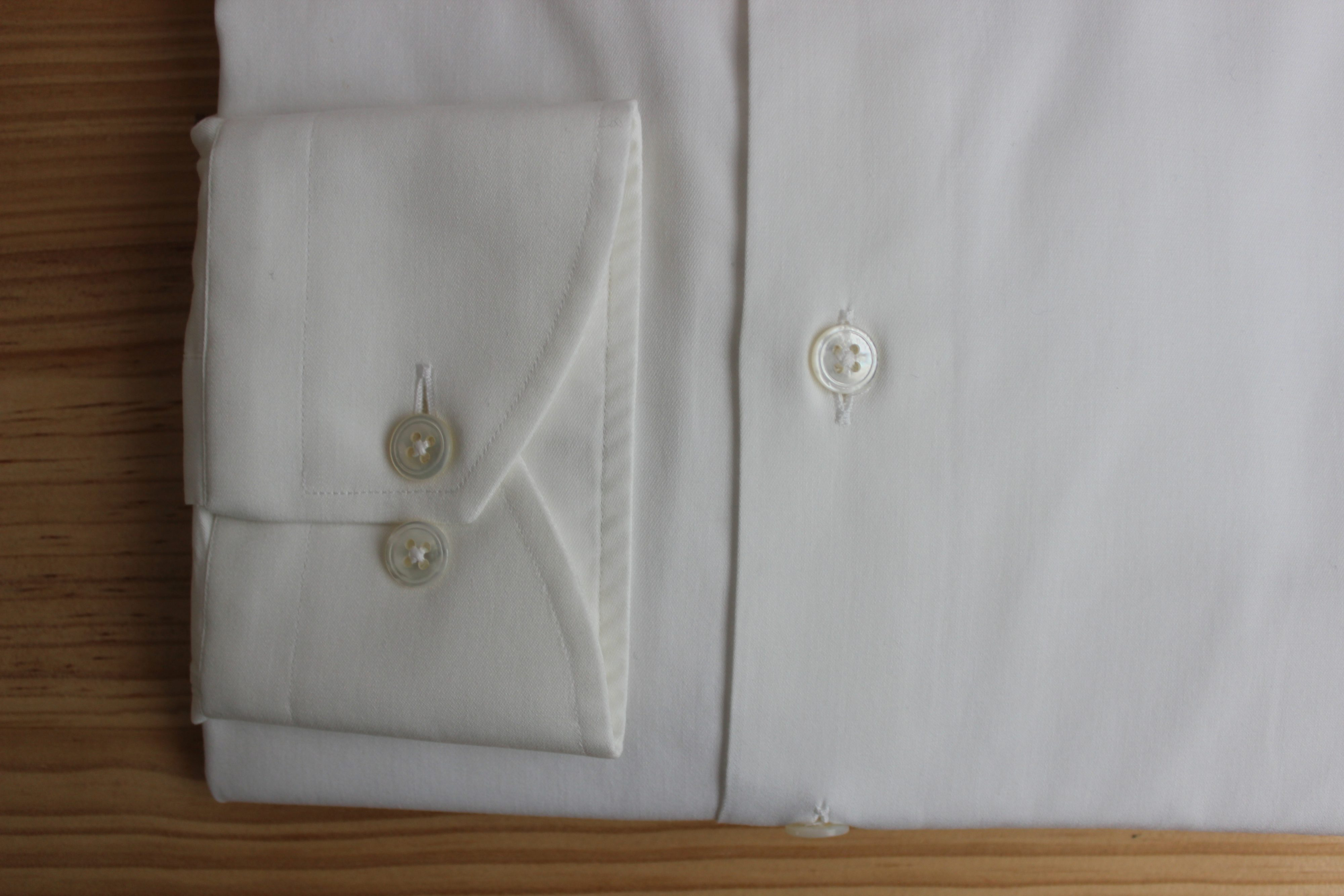 chemise mini col , chemise mini col sur mesure