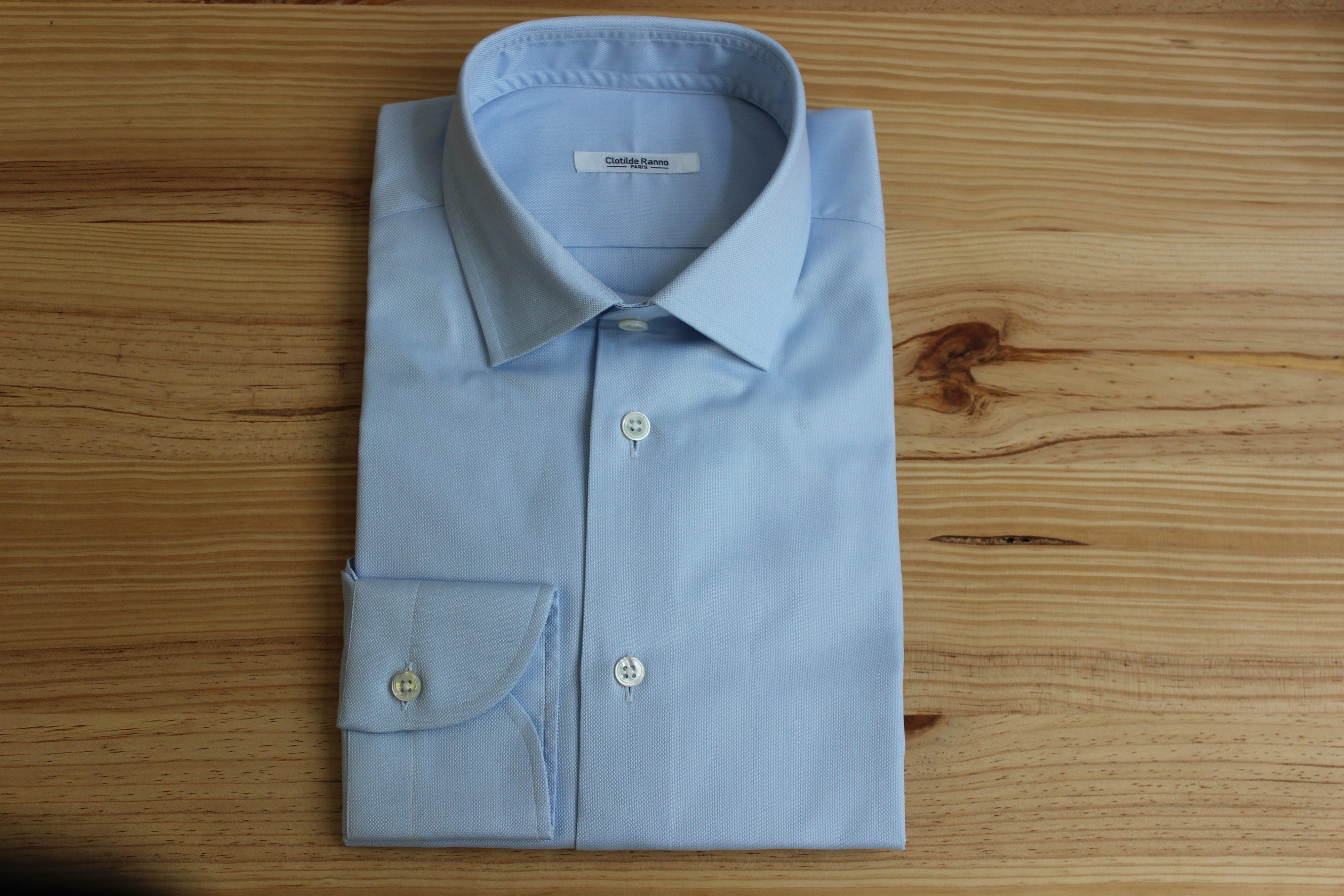 chemise oxford sur mesure , chemise oxford , chemise sur mesure
