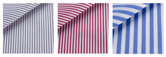 Thomas Mason, chemise à rayures, chemise sur mesure, bespoke, chemise femme, chemise homme