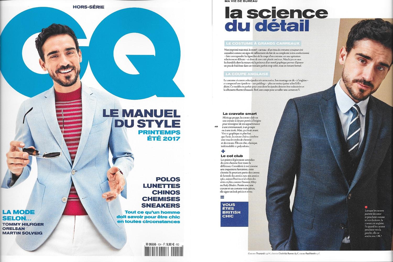 GQ, Clotilde Ranno, Manuel du Style, Mode Homme, Manuel du Style Printemps Eté 2017, Gentlemen Quarterly, chemise sur mesure, chemise homme sur mesure