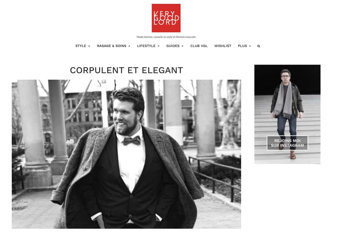 Very Good Lord, verygoodlord, corpulent et élégant, blog mode homme, conseil mode homme, mode homme, arnaud chanteloup, chemise sur mesure, chemise homme sur mesure, chemise grande taille