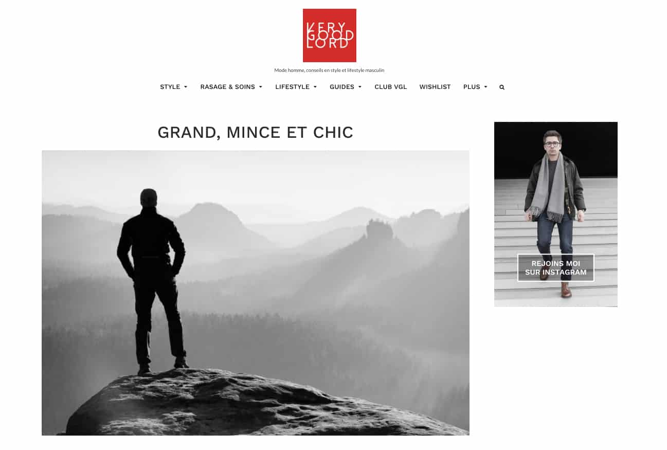 Very Good Lord, verygoodlord, blog mode homme, conseil mode homme, mode homme, arnaud chanteloup, chemise sur mesure, chemise homme sur mesure, chemise grande taille