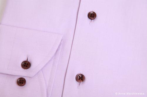 chemise sur mesure, chemise luxe, clotilde ranno, chemise rose, chemise violette, détail chemise, belle chemise, belle chemise sur mesure, chemises sur mesure, chemise sur mesures, poignet arrondi