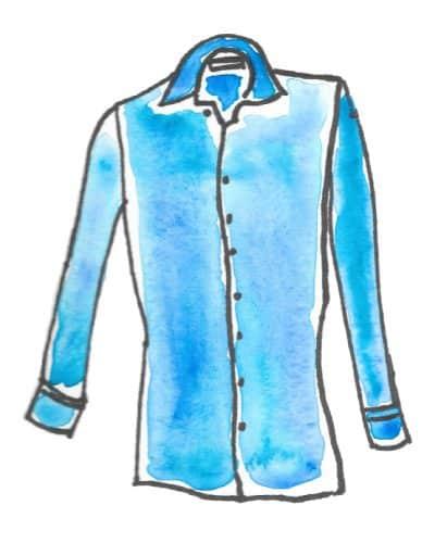 les contes des mille et une chemises, clotilde ranno, chemise préférée, mille et une chemises, chemise sur mesure, chemise bleue, chemise luxe