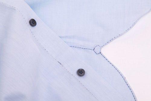 chemise sur mesure de très haute qualité, chemise cousue main, chemise sur mesure artisanale, chemise luxe, meilleure qualité chemise, plus belle chemise, belle chemise sur mesure, chemise sur mesure 30 finitiions main, made in Italy, made in France, clotilde ranno, chemise sur mesure paris