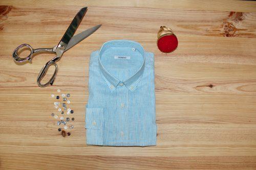 chemise en lin sur mesure , lin