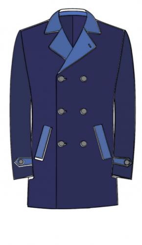 coupe , manteau sur mesure