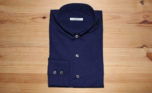 chemise bleue sur mesure , chemise sur mesure bleue