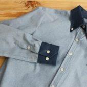 Chemise sur mesure en jean, chemise sur mesure chambray: s'axer sur le denim