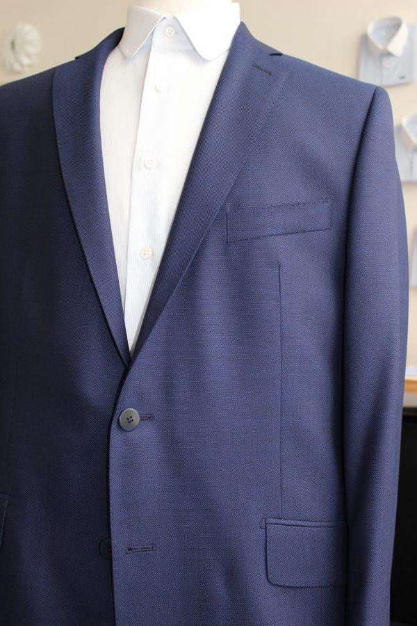 costume sur mesure bleu , costume bleu , costume sur mesure