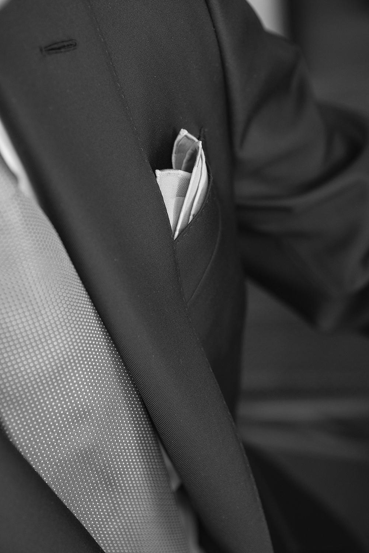 revers cousu au petit point, costume sur mesure, costume gris sur mesure, costume sur mesure paris, costume sur mesure homme