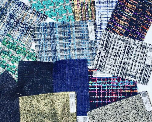 tweed femme, tweed chanel, mahlia kent, atelier clotilde ranno